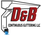 D&B Continuous Guttering Logo