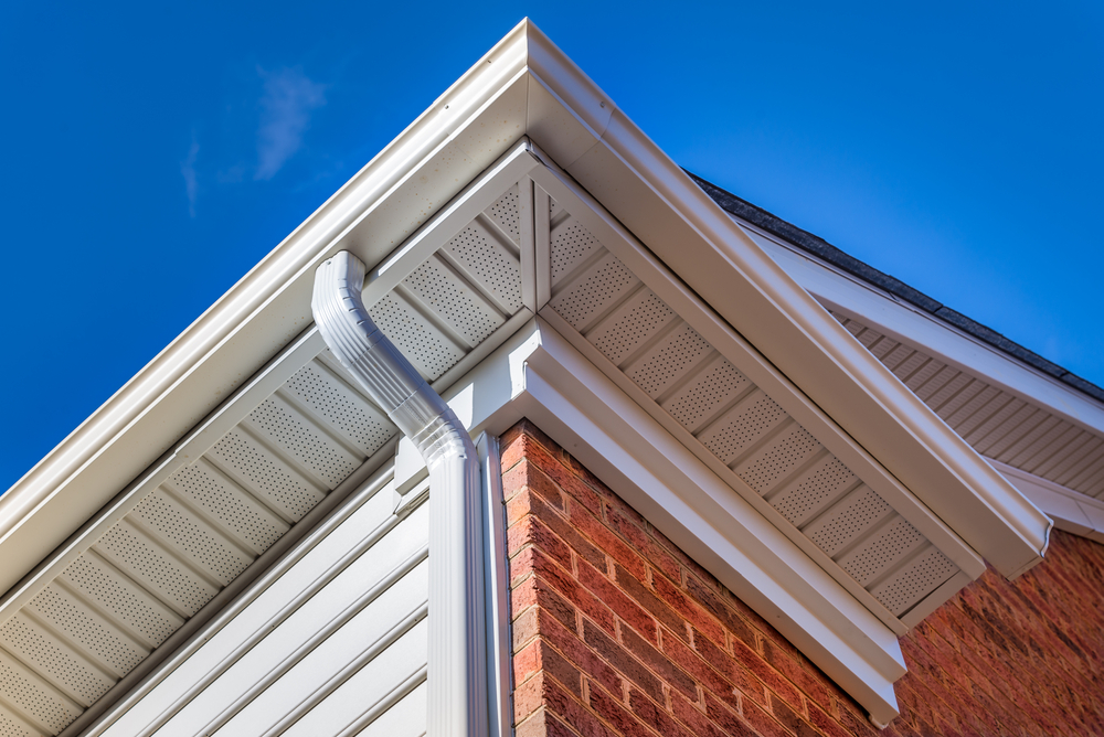 Image of D&B Guttering gutter and siding installation